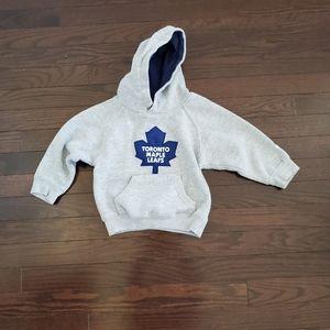 Boys Reebok Maple Leafs sweater 2T